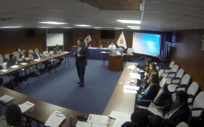 WG Conducts Training and Technical Assistance in Lima, Peru