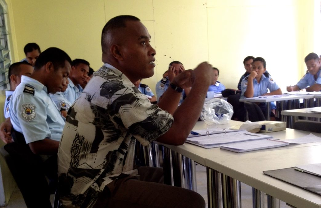 Justice Sector Professionals in the Kingdom of Tonga, and the Republic of Kiribati, Trained by Warnath Group Experts
