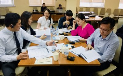 Mongolian Justice Officials Trained in March and June by Warnath Group Experts