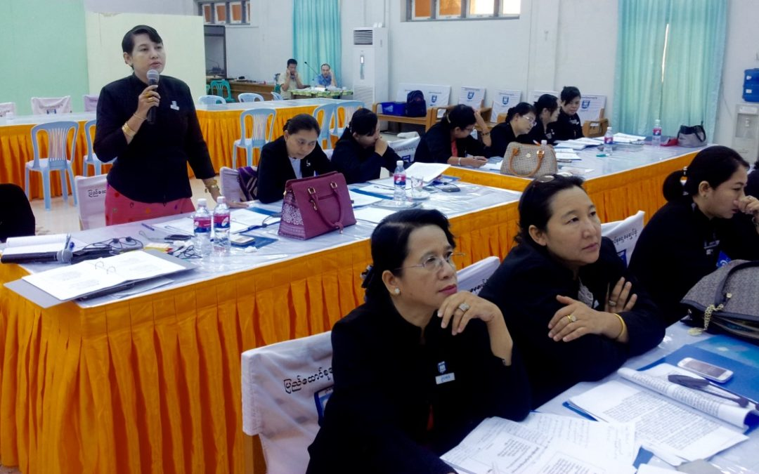 Country-Wide Prosecutors of Myanmar Learn the Victim-Centered Approach from Warnath Group Experts