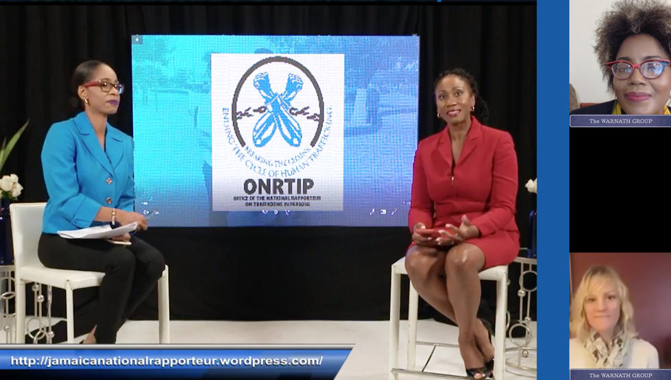 Warnath Group Proud to Collaborate with Jamaica's National Rapporteur on Trafficking in Persons (ONRTIP) on One-of-a-Kind Website