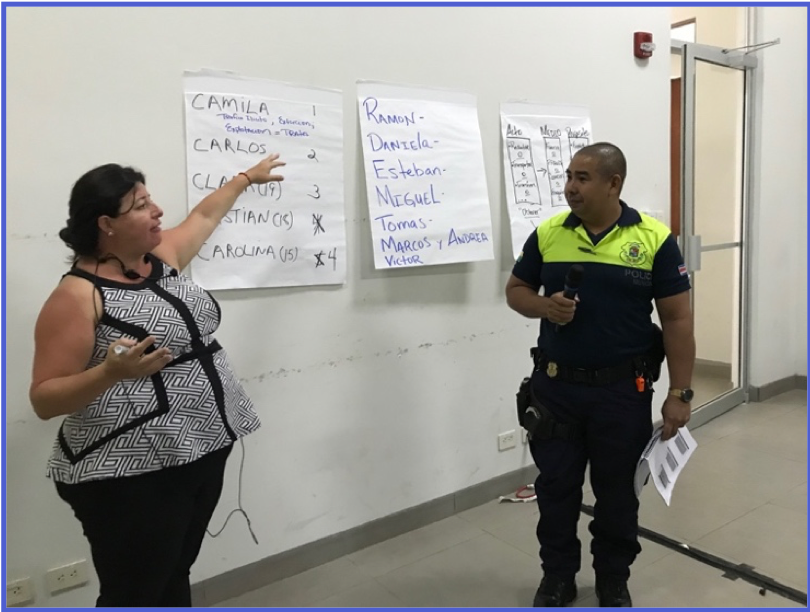 Warnath Group Continues Anti-TIP Training in Costa Rica