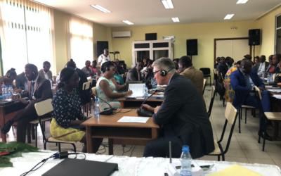 Gabonese Judges Attend Three-Day Warnath Group TIP Workshop